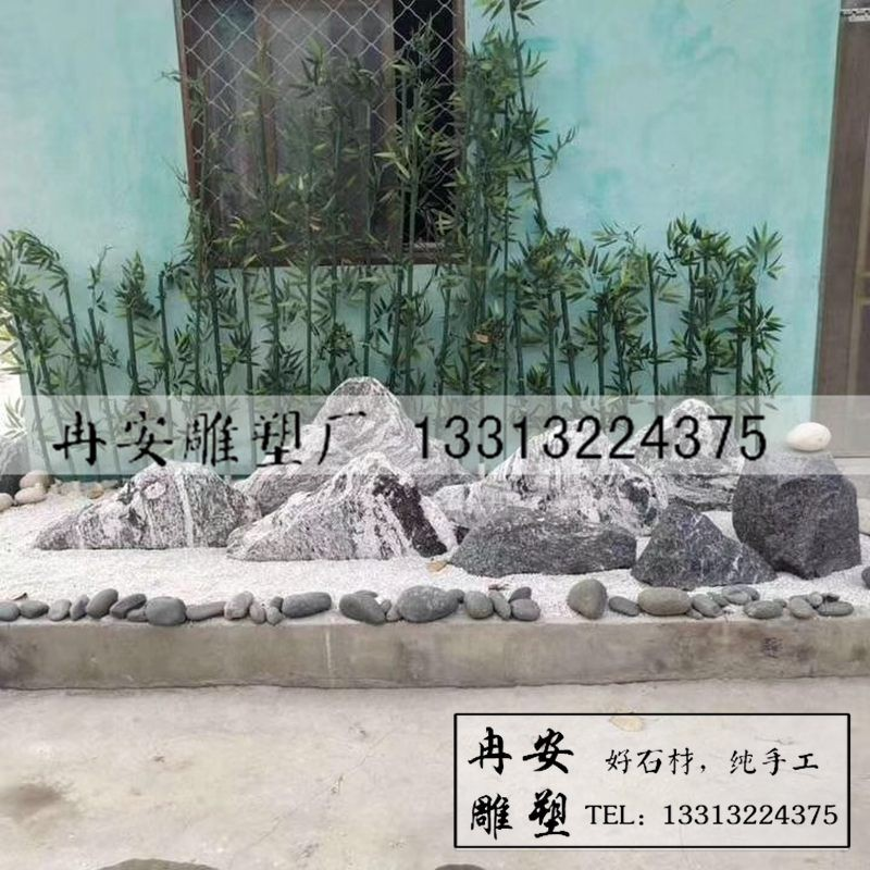 景观石雕塑 雪浪石雕塑景观 小庭院景观石